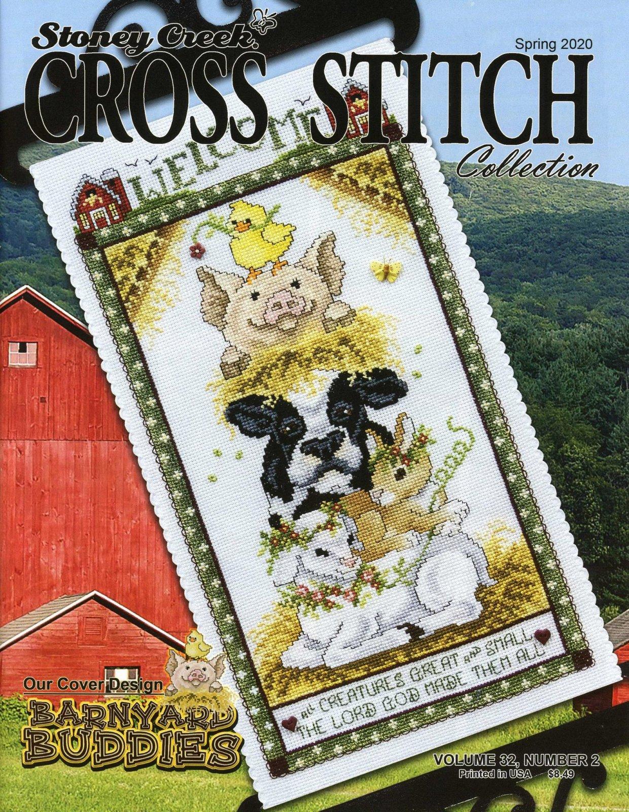 Stoney Creek Cross Stitch Spring 2020 Magazine