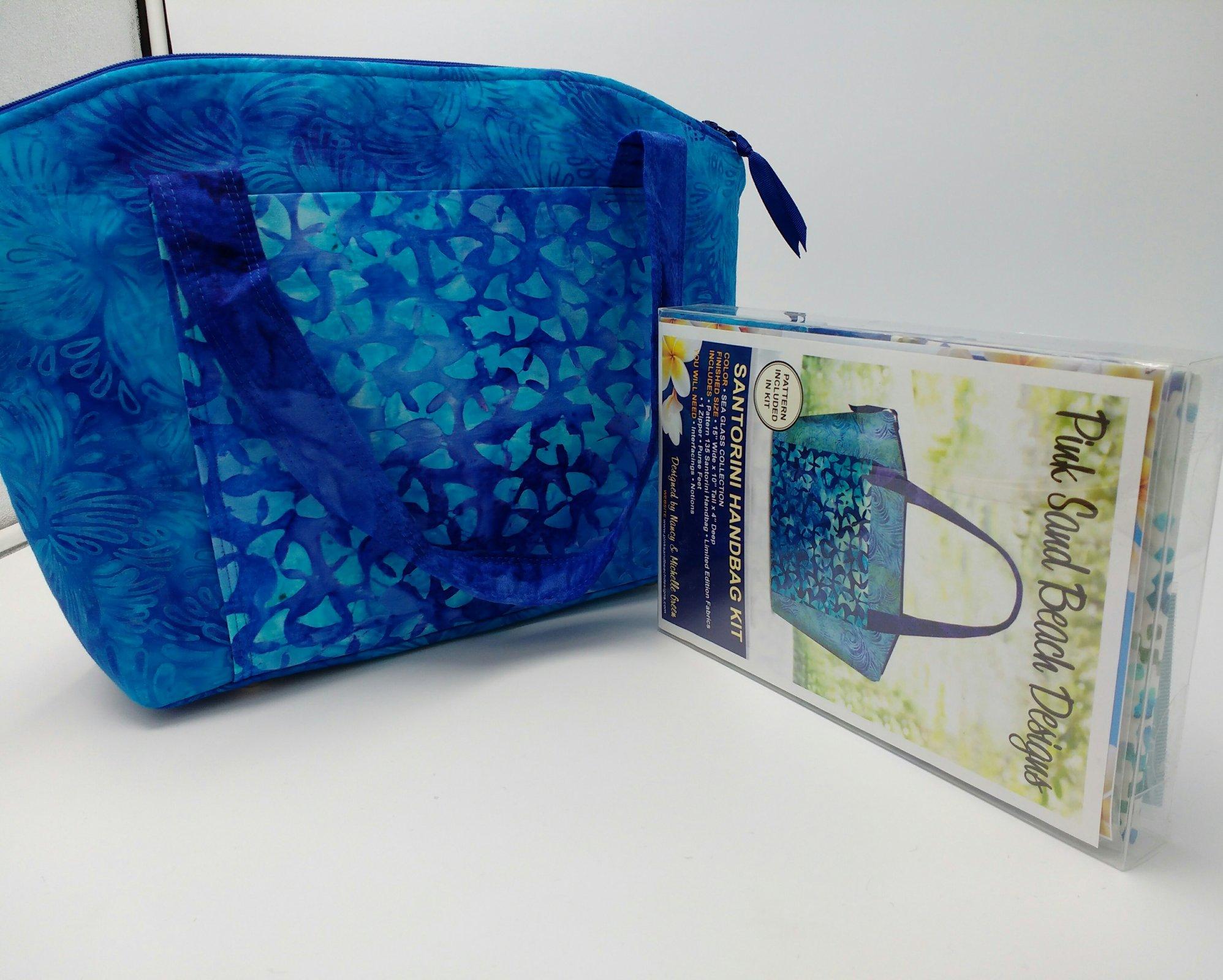 Kit Pink Sand Beach Santorini Handbag