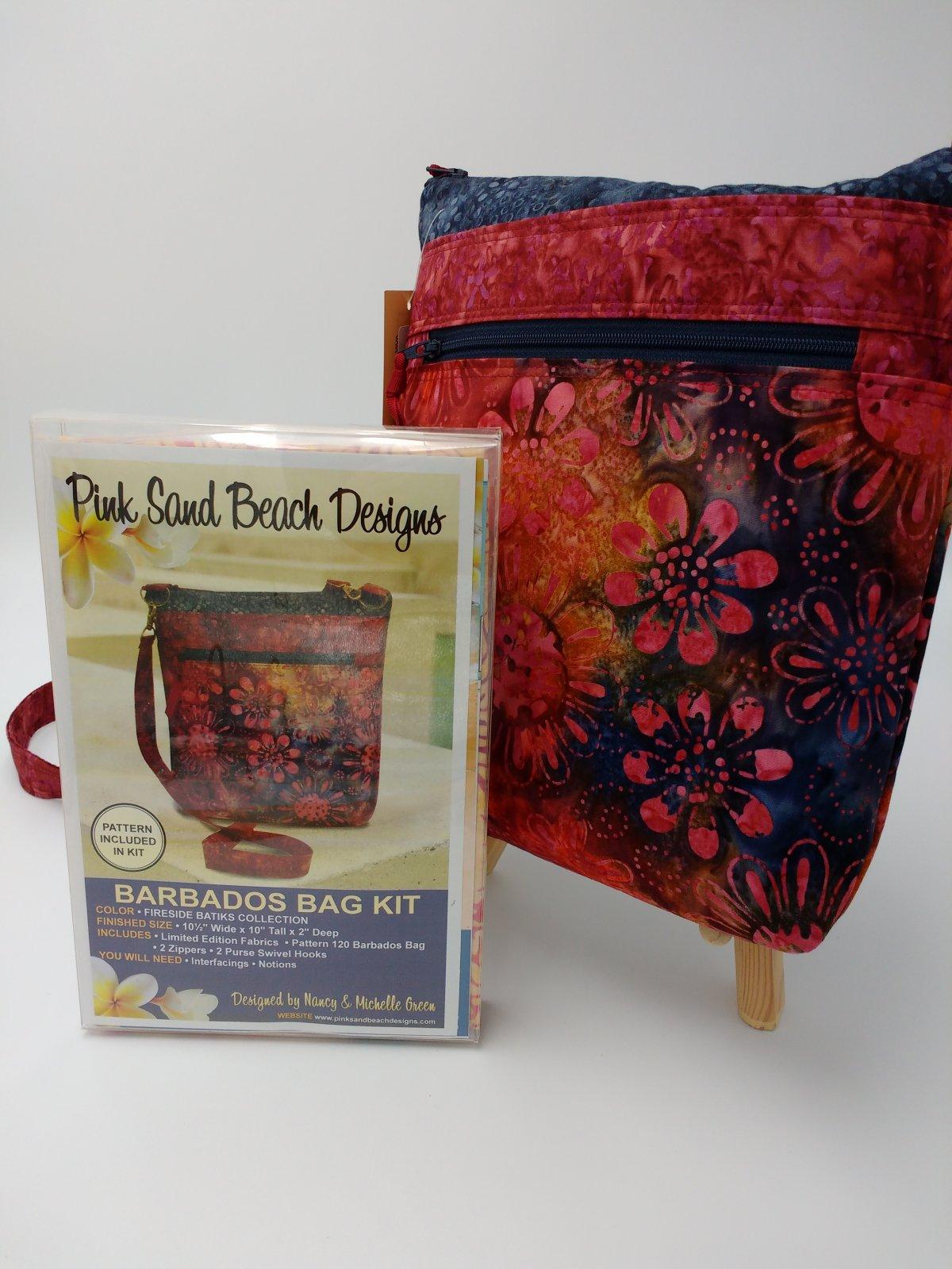 Kit Pink Sand Beach Barbados Bag Fireside
