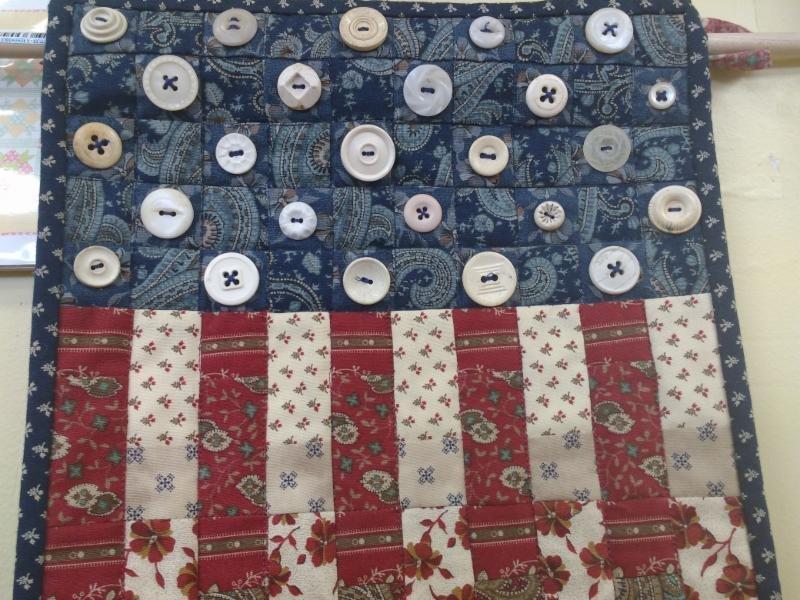 Kit Q Patriotic Mini Quilt 12