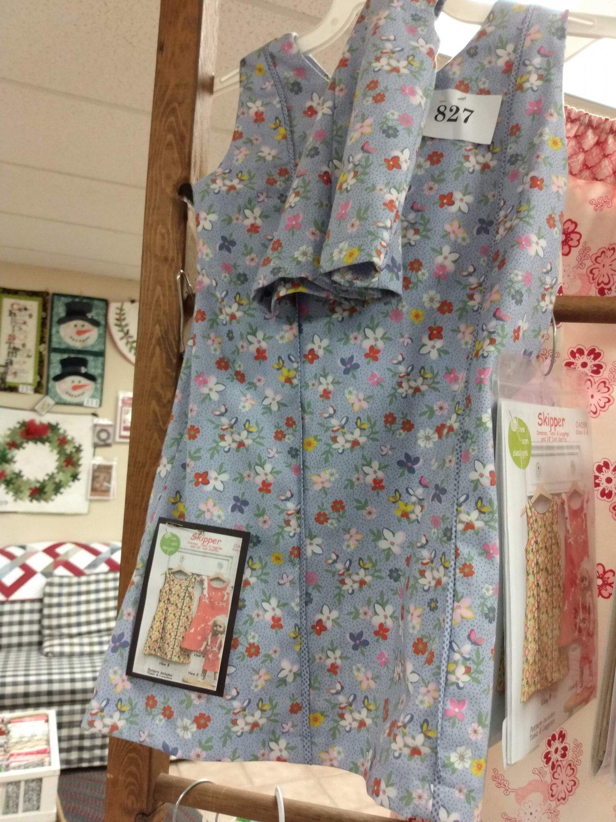 Sample - S Olive Ann Designs Skipper Dress - JV 1/13/17