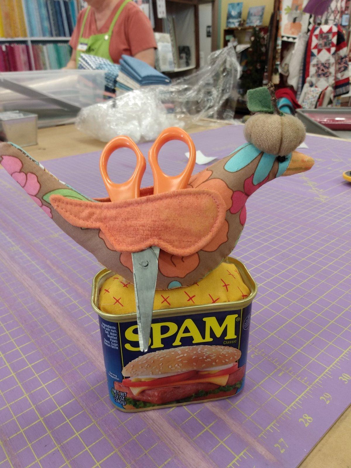 Kit S Sewing Bird Pincushion
