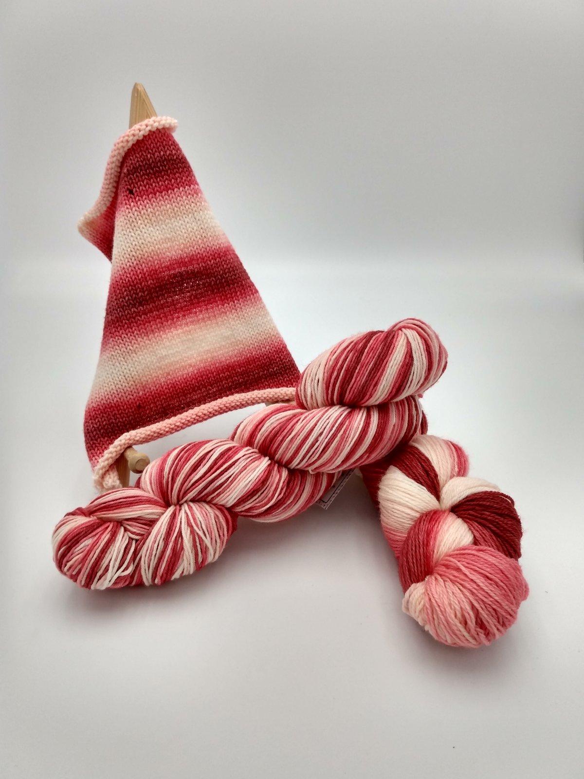 BaH Yarn Striping Berry Blush