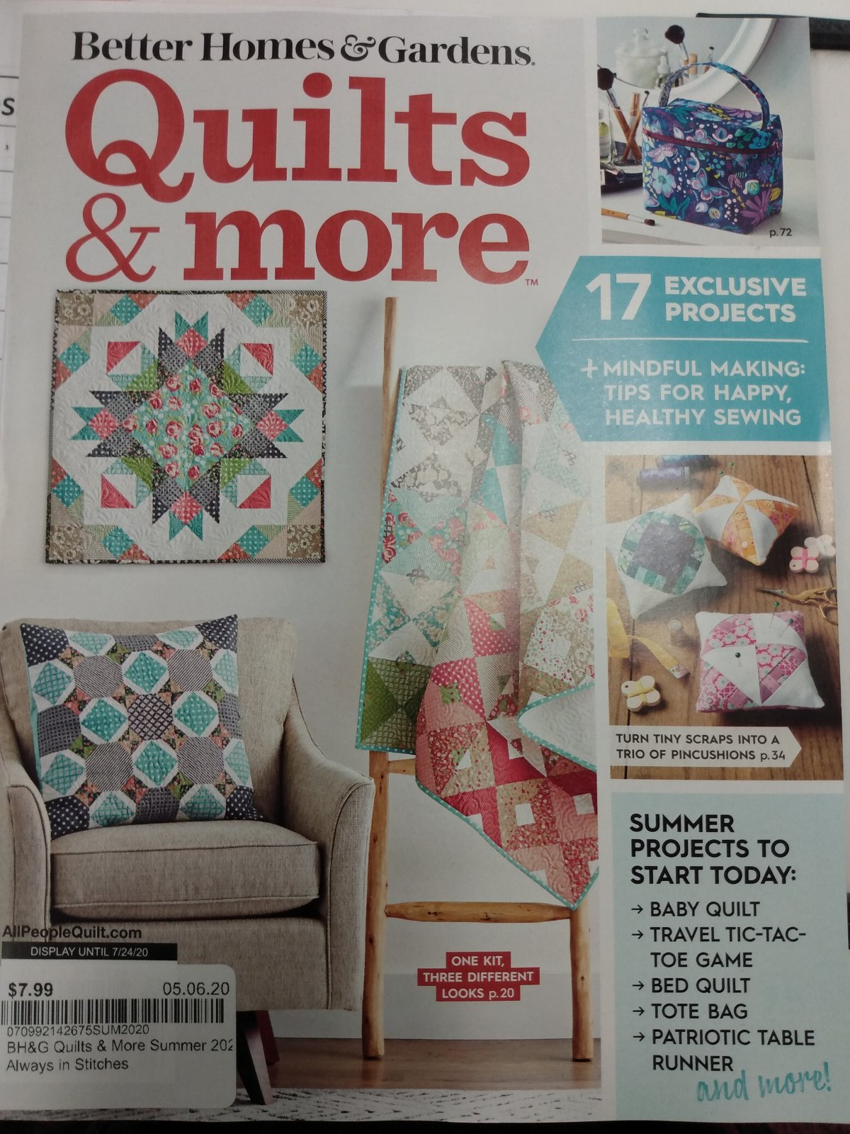 BH&G Quilts & More Summer 2020