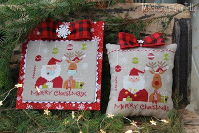 PT CS Madame Chantilly Merry Christmask