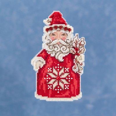 CS Kit Mill Hill Jim Shore Nordic Santa