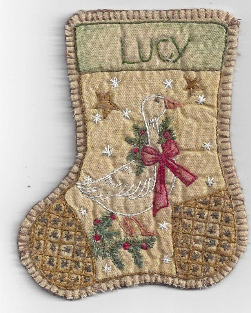 KIT HE Chickadee Hollow Jingle Sock Lucy