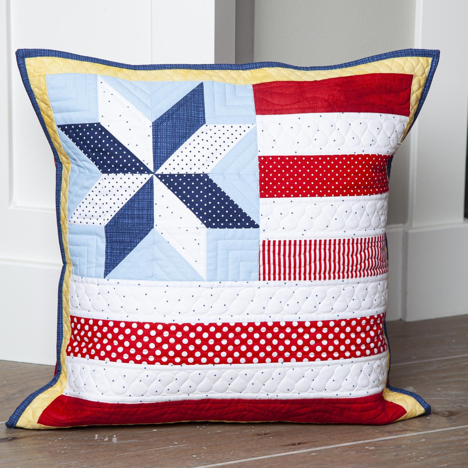Kit S Riley Blake Pillow of the Month July