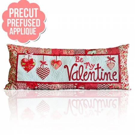 Kimberbell Bench Pillow Be My Valentine Applique Kit