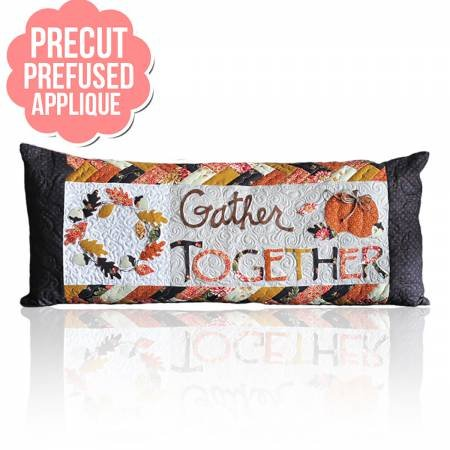 Kimberbell Bench Pillow Gather Together Applique Kit