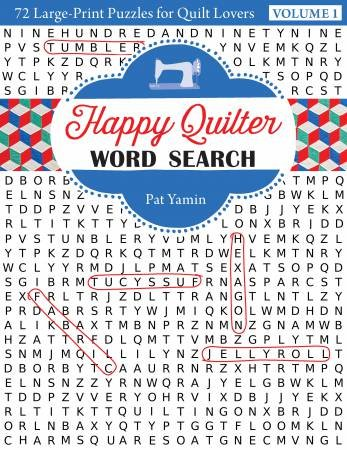 BK F Happy Quilter Word Search Volume 2