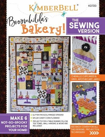 BK Q Kimberbell Broomhilda's Bakery Machine Sewing Version