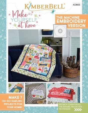 BK ME Kimberbell Make Yourself At Home Machine Embroidery CD