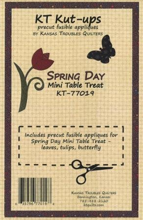 KT Kut-Ups Precut Fusible Appliques Spring Day