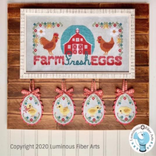 PT CS Luminous Fiber Arts Farm Fresh Eggs