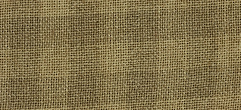 CS Fabric 28ct WDW Gingham Linen Natural/Straw FQ