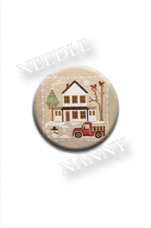 Needle Nanny Farmhouse Christmas - Grandpa's Pickup