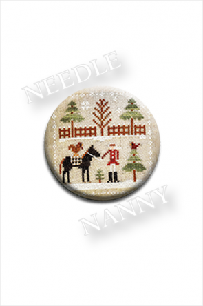 Needle Nanny Farmhouse Christmas-Horsin' Around