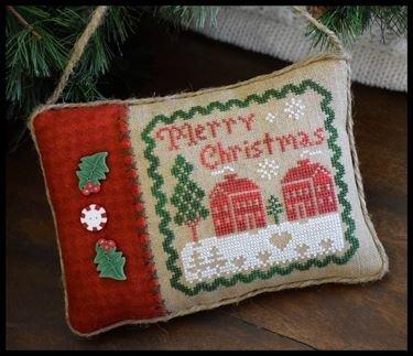 PT CS LHN All Dolled Up! Merry Christmas Pillow