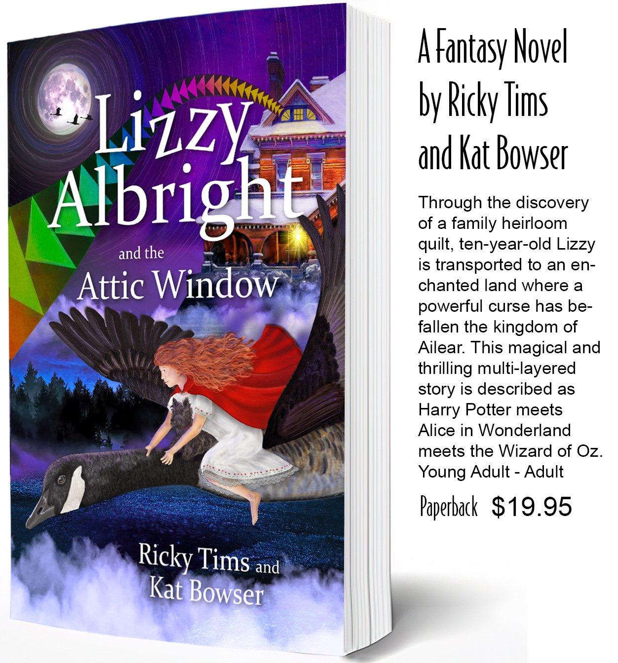 BK F Lizzy Albright and the Attic Window