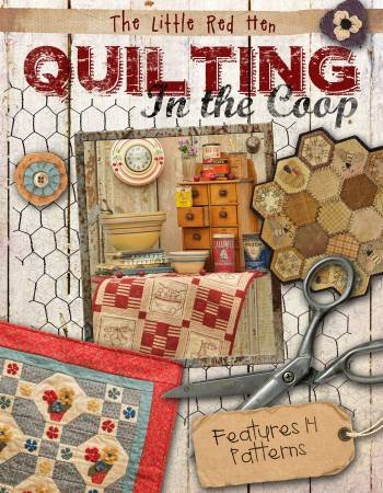 BK Q The Little Red Hen Quilting in the Coop