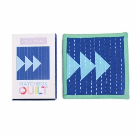 Moda Matchbox Quilt Kit Blue