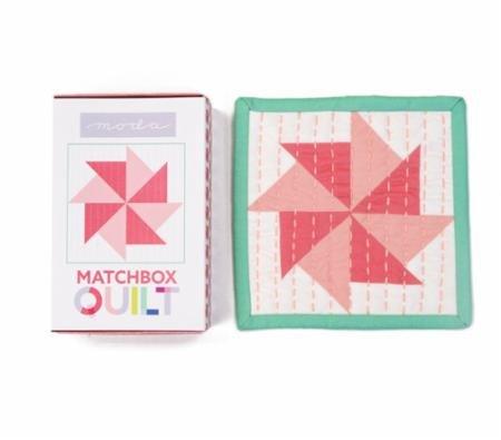 Moda Matchbox Quilt Kit Coral