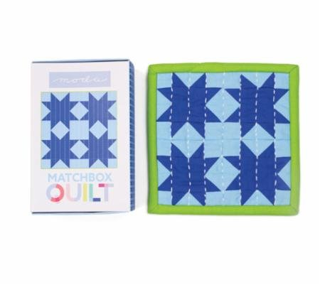 Moda Matchbox Quilt Kit Light Blue