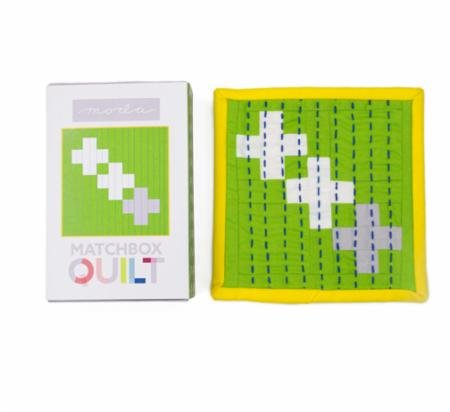 Moda Matchbox Quilt Kit Gray