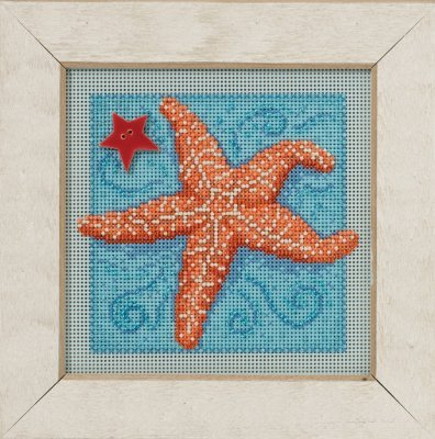 CS Kit Mill Hill Buttons & Beads Spring Starfish