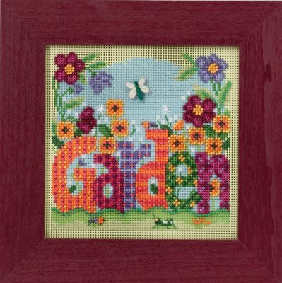 CS Kit Mill Hill Buttons & Beads Spring Garden