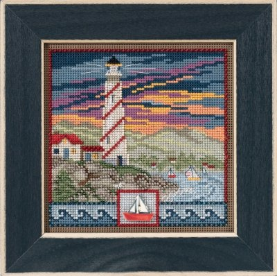 CS Kit Mill Hill Buttons & Beads Spring Series Lighthouse