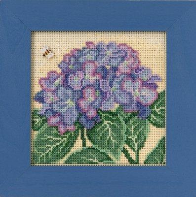 CS Kit Mill Hill Buttons & Beads Spring Series Hydrangea