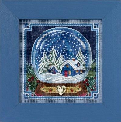 CS Kit Mill Hill Buttons & Beads Winter Series Snow Globe