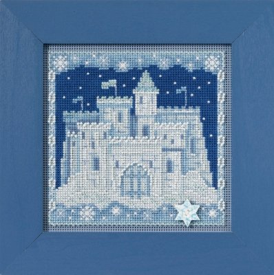 CS Kit Mill Hill Buttons & Beads Winter Series Ice Castle