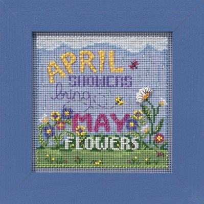 CS Kit Mill Hill Buttons & Beads Spring April Showers