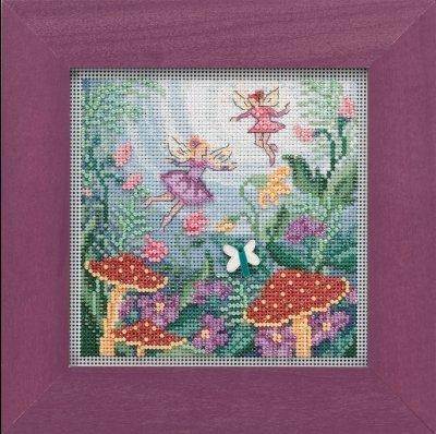 CS Kit Mill Hill Buttons & Beads Fairy Garden