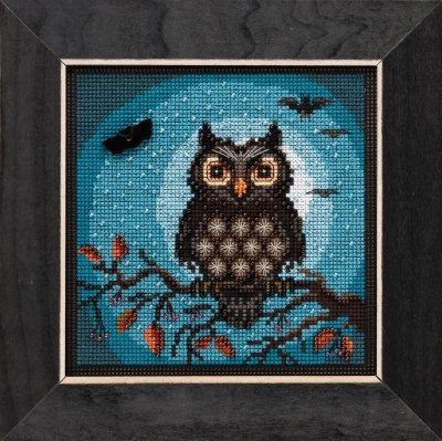 CS Kit Mill Hill Buttons & Beads Midnight Owl