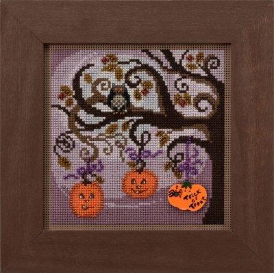 Mill Hill Buttons & Beads Pumpkin Tree