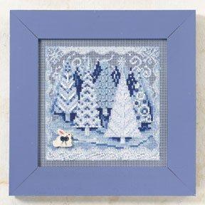 CS KIT Mill Hill Buttons & Beads Winter Winter Wonderland