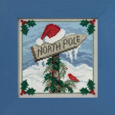 CS KIT Mill Hill Buttons & Beads Winter Series North Pole