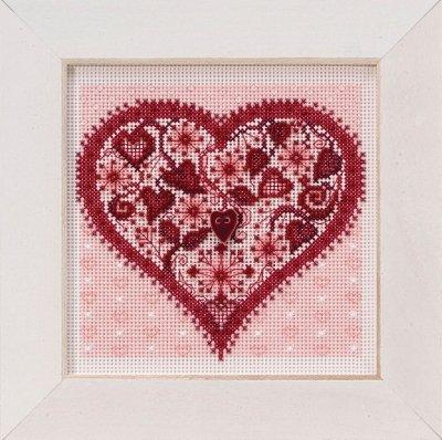 CS Kit Mill Hill Valentine Heart