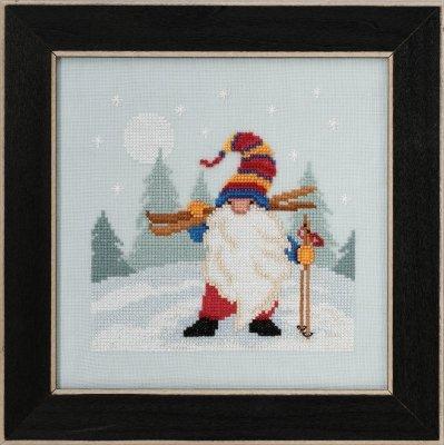 Kit CS Mill Hill Gnome Quartet Skiing Gnome
