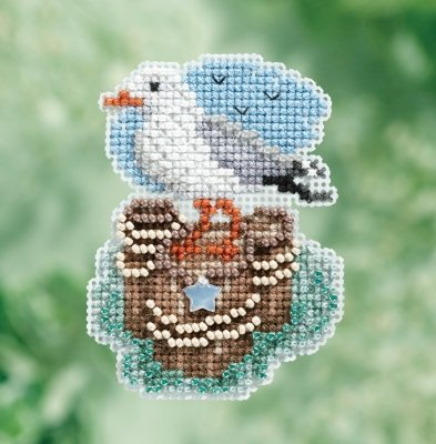 CS Kit Mill Hill Spring Bouquet Collection Seagull