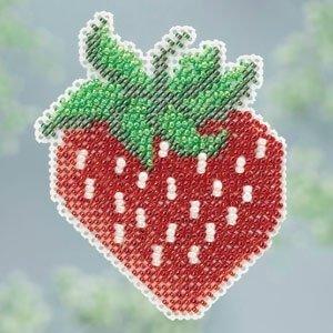 CS Kit Mill Hill Bead Kit Spring Bouquet Strawberry