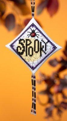CS Kit Mill Hill Tiny Treasures Diamond Spooky Spider