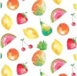 Michael Miller Greetings From Juicy Fruits