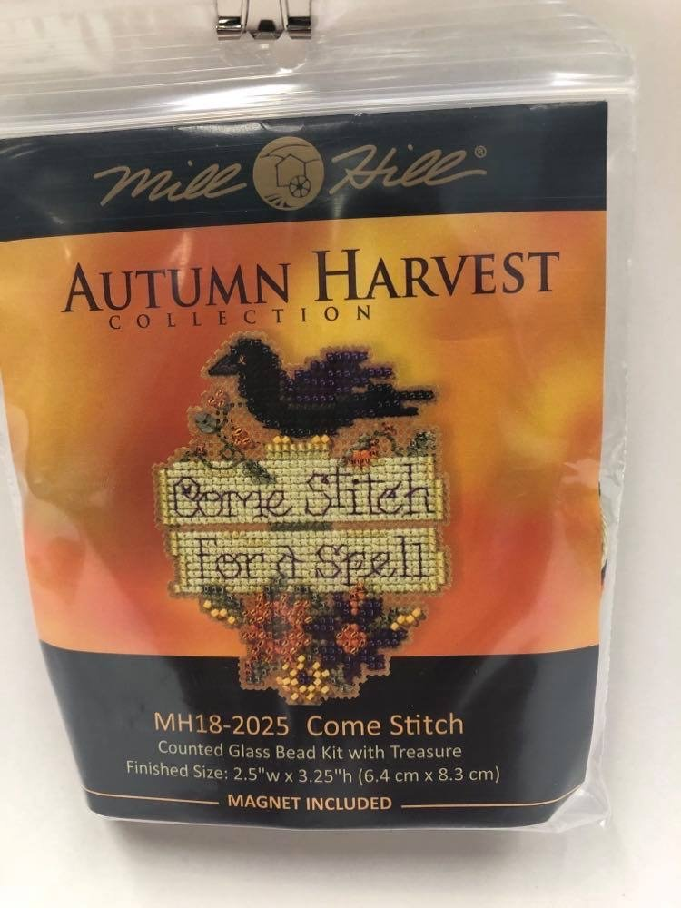 Mill Hill Autumn Harvest Come Stitch