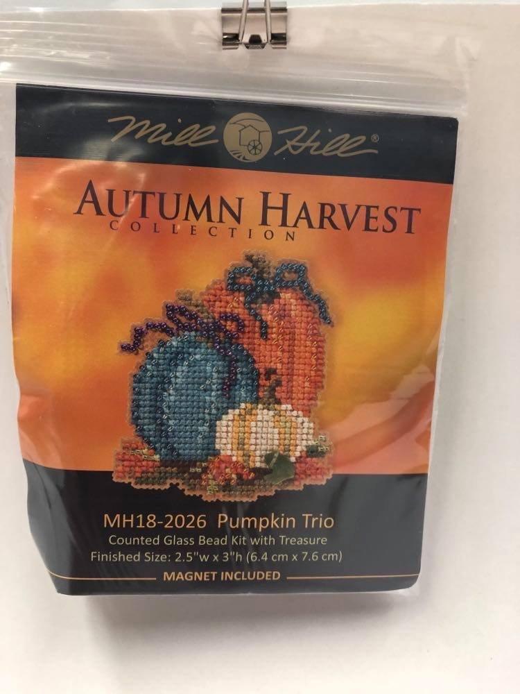 Mill Hill Autumn Harvest Pumpkin Trio