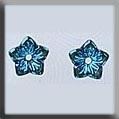 Mill Hill Glass Treasures Jasmine Flower Light Sapphire AB